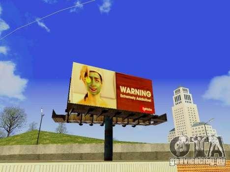 GTA V Billboards v2 для GTA San Andreas второй скриншот