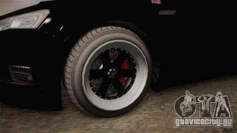 GTA 5 Karin Kuruma RS для GTA San Andreas вид сзади