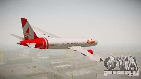 Airbus A350 Avior Airlines (Fictional) для GTA San Andreas вид слева
