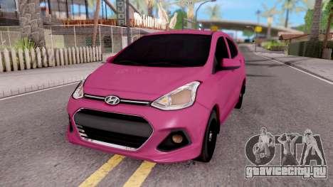 Hyundai i10 для GTA San Andreas
