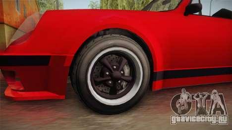 GTA 5 Pfister Comet Retro Cabrio IVF для GTA San Andreas вид сзади