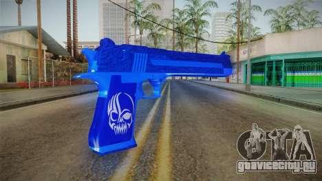 Dark Blue Weapon 1 для GTA San Andreas второй скриншот