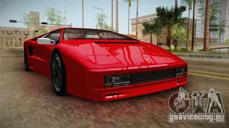 GTA 5 Pegassi Infernus Classic v3 для GTA San Andreas