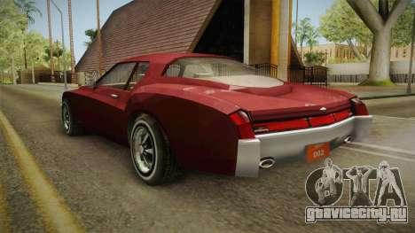 Driver: PL - Cerva для GTA San Andreas вид сзади слева