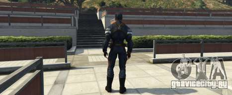 Captain America The Winter Soldier для GTA 5 второй скриншот