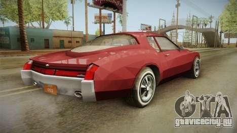 Driver: PL - Cerva для GTA San Andreas вид слева