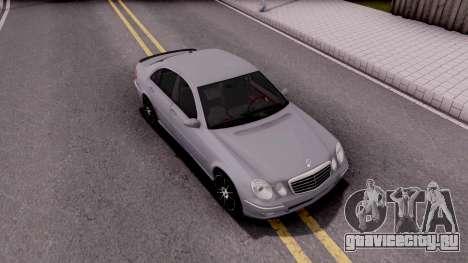 Mercedes-Benz E280 W221 для GTA San Andreas вид справа