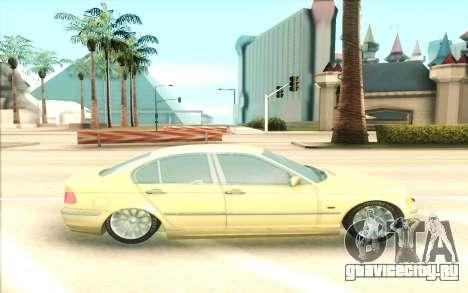 BMW 320 для GTA San Andreas вид слева