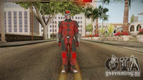 Injustice 2 Mobile - Deadshot v1 для GTA San Andreas второй скриншот