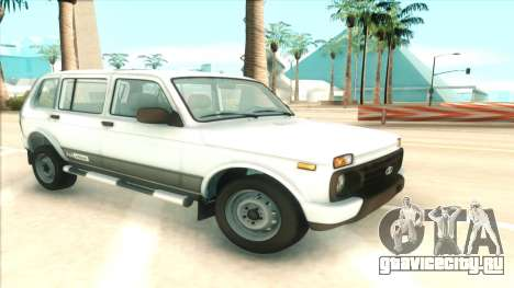 Lada Niva Urban для GTA San Andreas