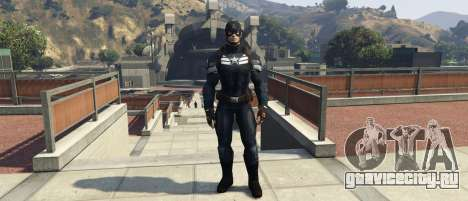 Captain America The Winter Soldier для GTA 5