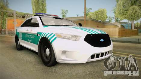 Ford Taurus Turkish Highway Patrol для GTA San Andreas