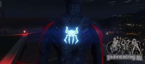Spiderman 2099 для GTA 5 третий скриншот