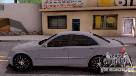 Mercedes-Benz E280 W221 для GTA San Andreas вид слева