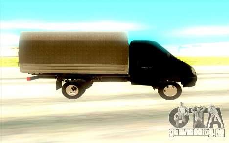 ГАЗ 3302 для GTA San Andreas вид слева