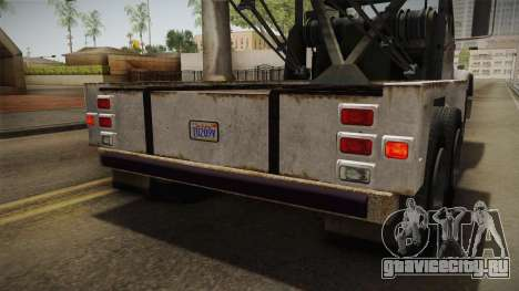 GTA 5 Vapid Towtruck Large Worn IVF для GTA San Andreas