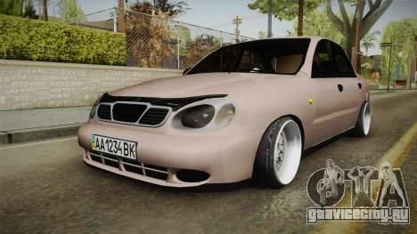 Daewoo Lanos Sedan 2001 для GTA San Andreas