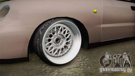 Daewoo Lanos Sedan 2001 для GTA San Andreas вид сзади
