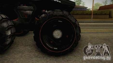 Goliath UGV для GTA San Andreas вид сзади