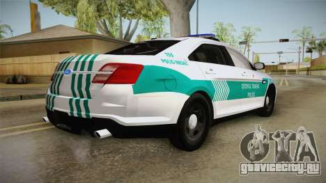 Ford Taurus Turkish Highway Patrol для GTA San Andreas вид справа
