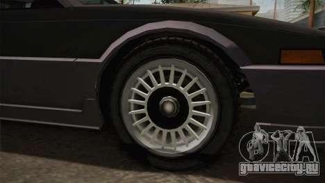 GTA 4 Dinka Hakumai Tuned Bumpers для GTA San Andreas вид сзади