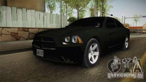 Dodge Charger 2013 Unmarked Iowa State Patrol для GTA San Andreas