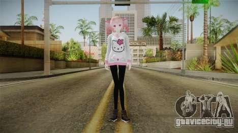 TDA Hoodi Teto Kasane для GTA San Andreas второй скриншот