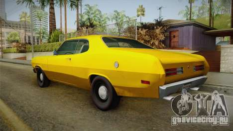 Plymouth Duster 1972 для GTA San Andreas