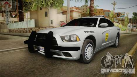 Dodge Charger 2014 Iowa State Patrol для GTA San Andreas