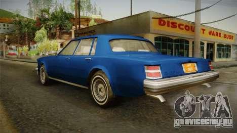 Driver: PL - Regina для GTA San Andreas вид слева