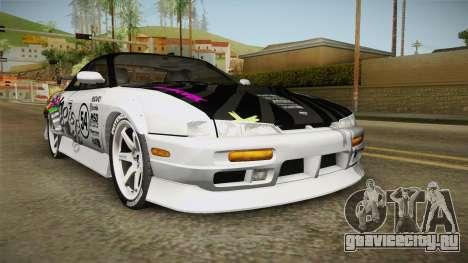 Nissan 200SX (S14) для GTA San Andreas вид сзади слева