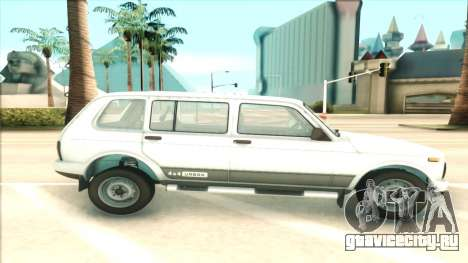 Lada Niva Urban для GTA San Andreas вид слева