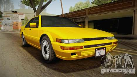 GTA 4 Dinka Hakumai SA Style для GTA San Andreas