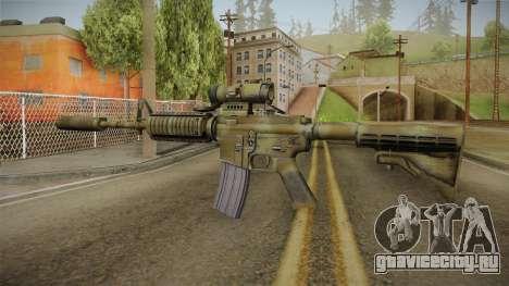 M4A1 CCO SD для GTA San Andreas второй скриншот