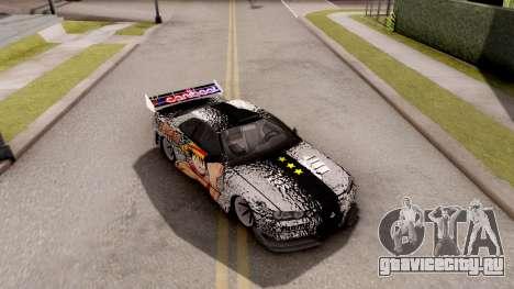 Nissan Skyline GT-R One Piece для GTA San Andreas вид справа
