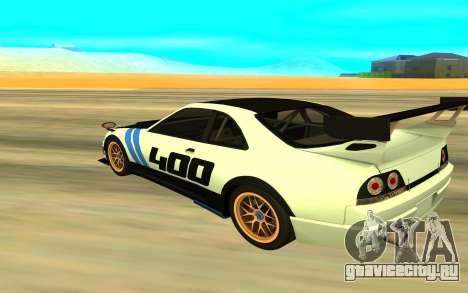 Nissan Skyline R33 для GTA San Andreas вид слева