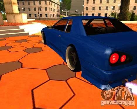 Elegy Stilov для GTA San Andreas вид справа