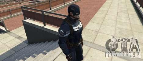Captain America The Winter Soldier для GTA 5 третий скриншот