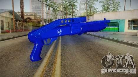 Dark Blue Weapon 3 для GTA San Andreas второй скриншот