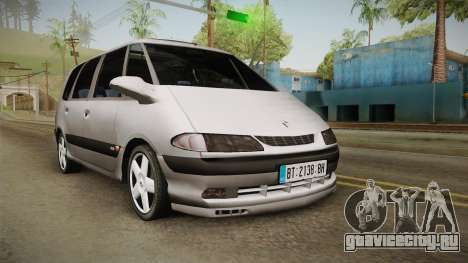 Renault Espace 1999 2.0 16v для GTA San Andreas