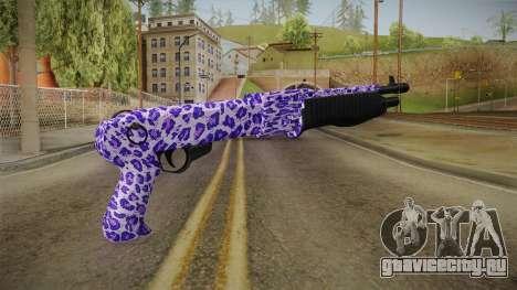 Tiger Violet Shotgun 2 для GTA San Andreas второй скриншот