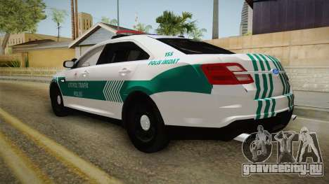 Ford Taurus Turkish Highway Patrol для GTA San Andreas вид слева