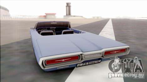 Ford Thunderbird для GTA San Andreas вид справа