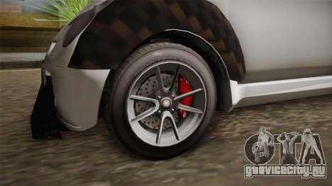 GTA 5 Benefactor Panto для GTA San Andreas