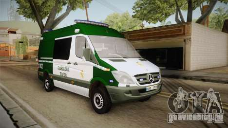 Mercedes-Benz Sprinter GC Trafico Spanish для GTA San Andreas