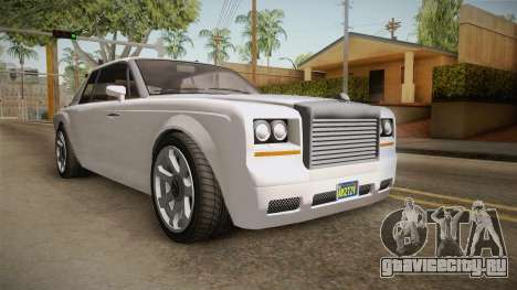 GTA 5 Enus Diamond Coupè для GTA San Andreas