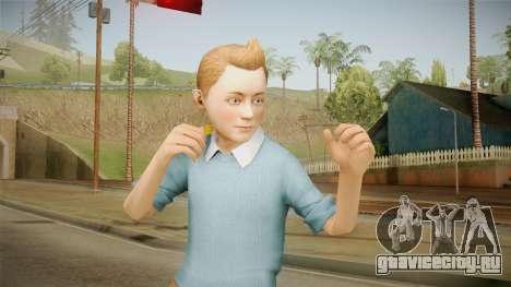 Tintin для GTA San Andreas