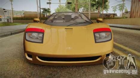 GTA 5 Progen GP1 Roadster IVF для GTA San Andreas вид сбоку