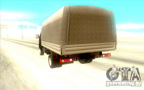 ГАЗ 3302 для GTA San Andreas вид справа