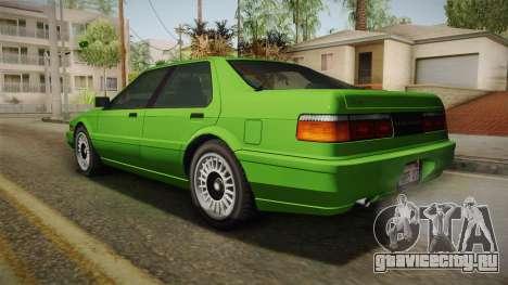 GTA 4 Dinka Hakumai для GTA San Andreas вид слева